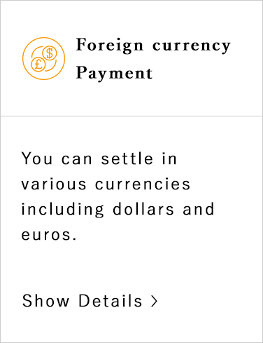 Foreign currency Payment